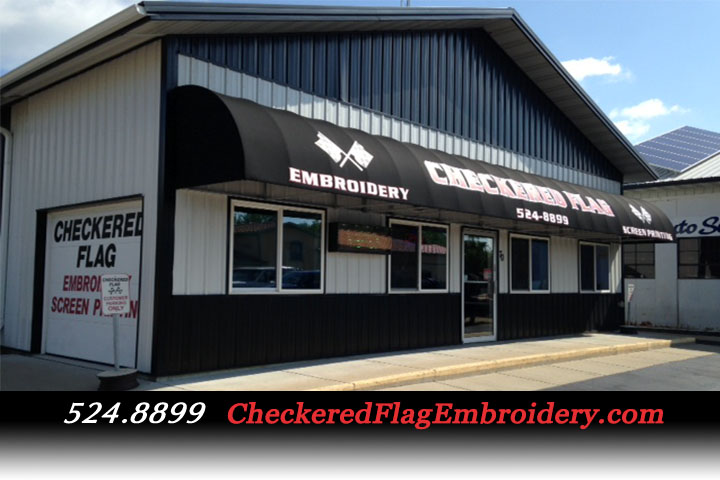 Checkered Flag Embroidery & Screen Printing store front